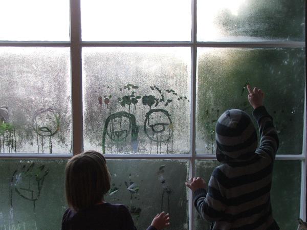 Melissa Wastney kid art via the red thread