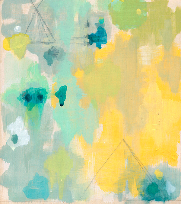 Belinda Marshall yellow painting
