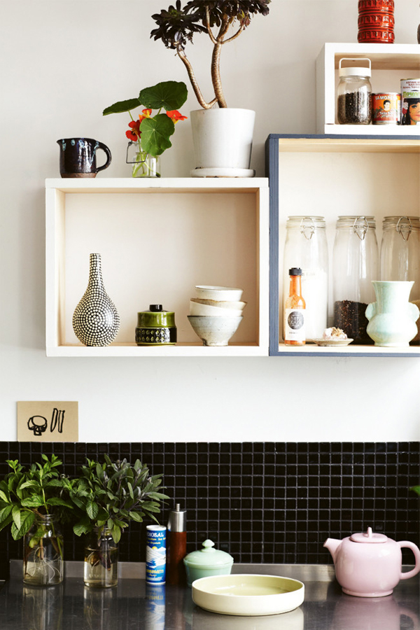 Kirra Jamison kitchen from Inside Out mag