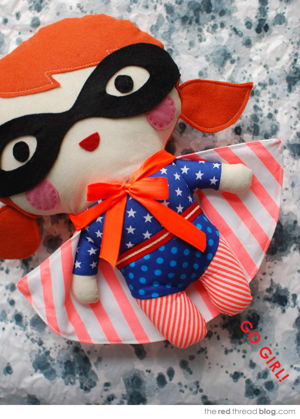 Tutorial Make Your Own Superhero Softie We Are Scout