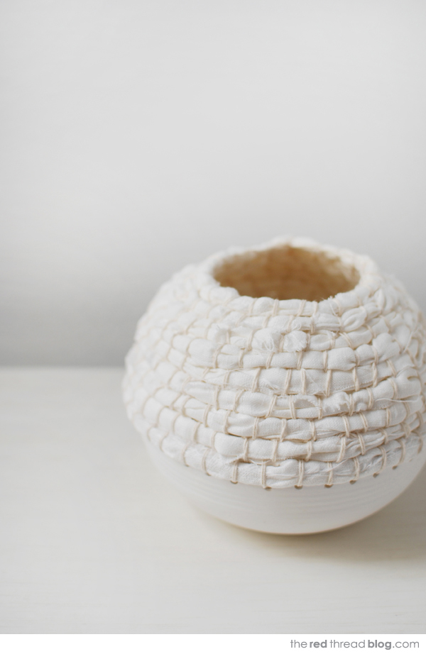 Lisa Tilse POD vessel via the red thread