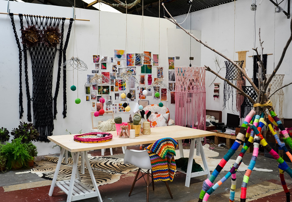 natalie miller studio via the red thread