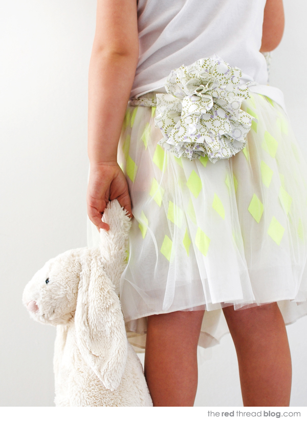 TUTORIAL :: Sweet Easter bunny costume and egg hunt bag