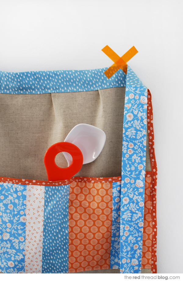 TUTORIAL :: Sew an apron with a patchwork pocket