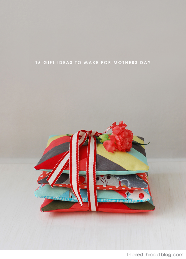Tutorials :: 15 lovely DIY Mothers Day gifts