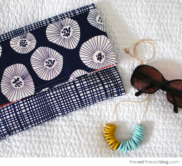 the red thread envelope clutch complete