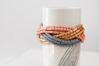 Tutorial: Make a braided cuff bangle using Hama beads