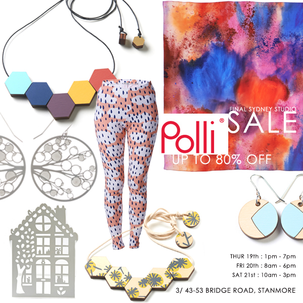 Polli studio sale :: Up to 80% off jewellery, clothing, accessories
