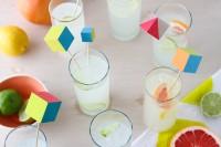 Make: Vibrant Wood Block Drink Stirrers
