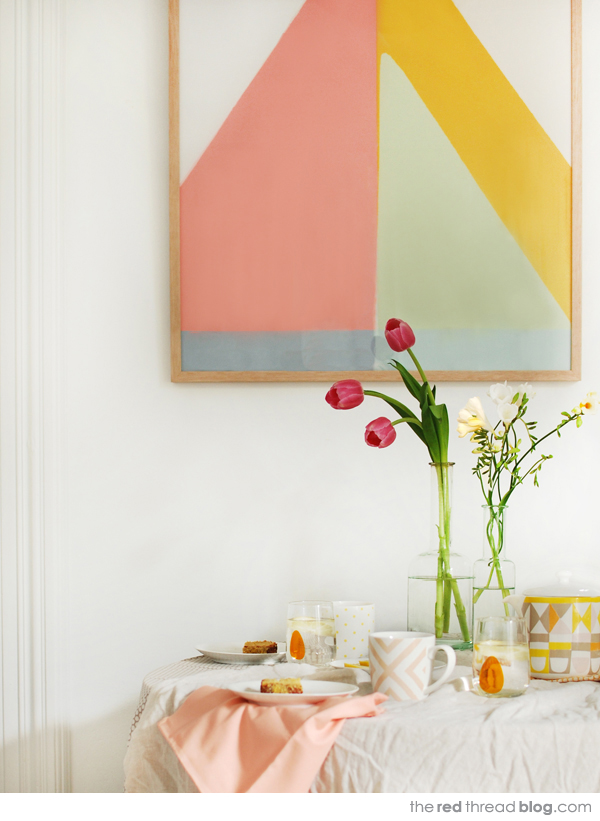 Sorbet hues for summer entertaining at home
