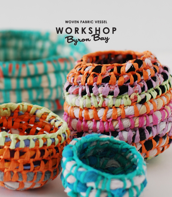 Join me for a weaving workshop in Byron Bay