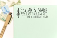 What to buy now from Etsy for Christmas: Custom Return Address Stamps