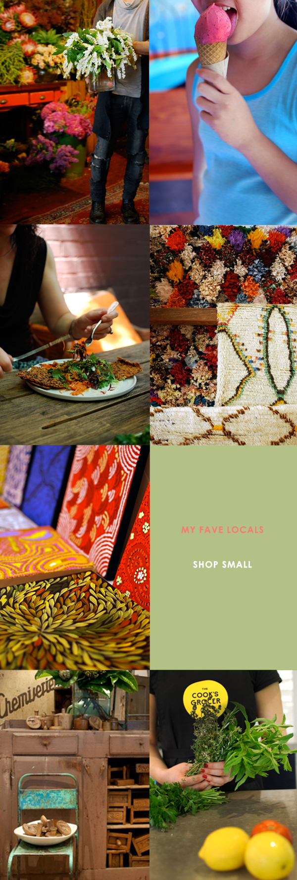 SHOP SMALL via the red thread
