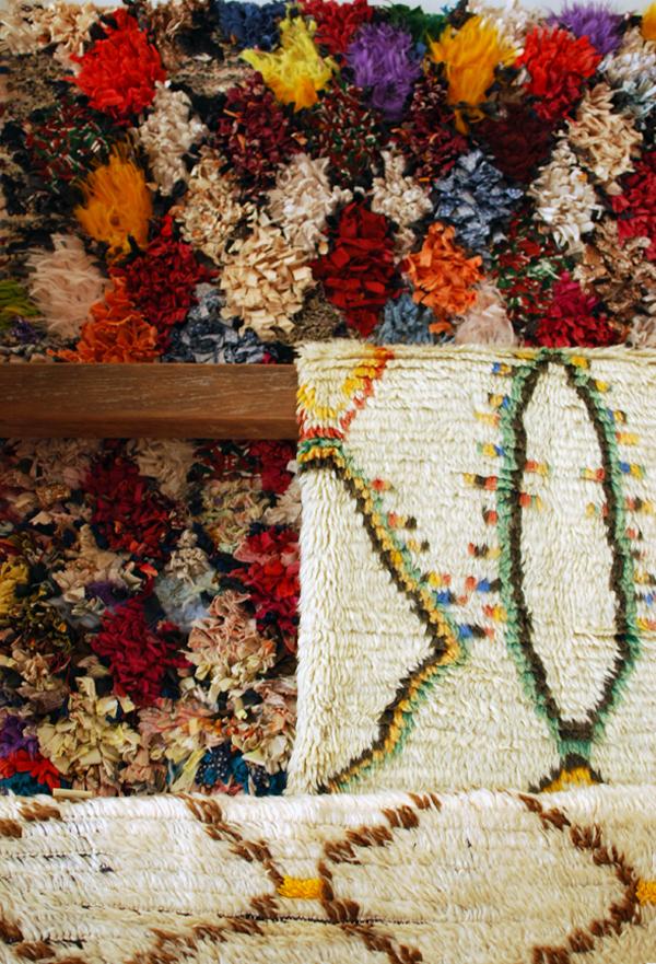 sky parlour rugs via the red thread
