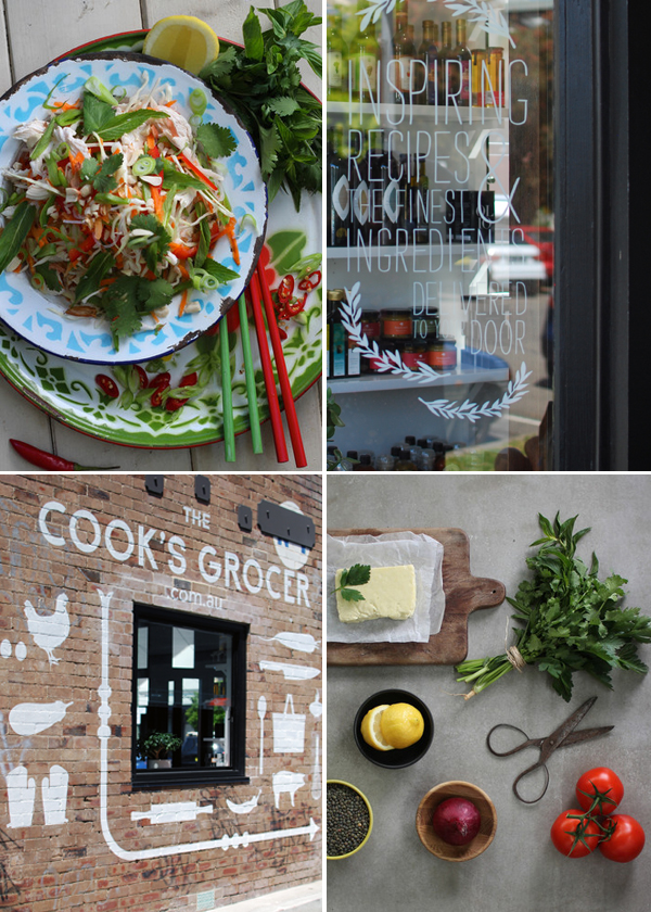 the cooks grocer 1 via the red thread