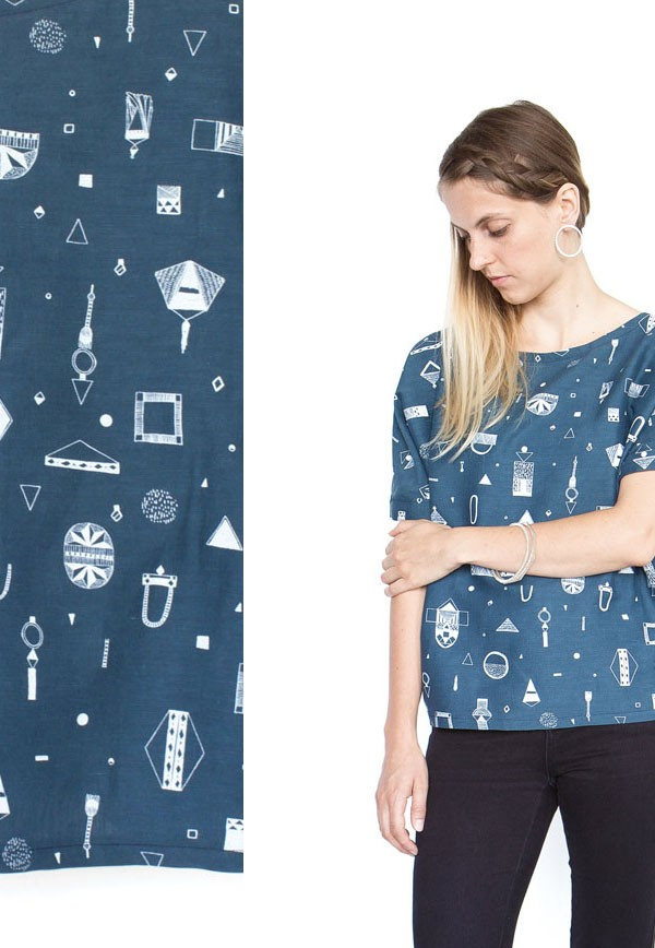 Abby Seymour Limited Edition Textile range via We Are Scout