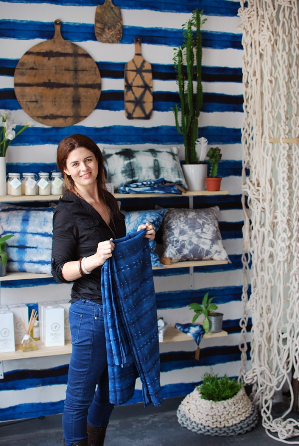 Pepa Martin of Shibori via We Are Scout