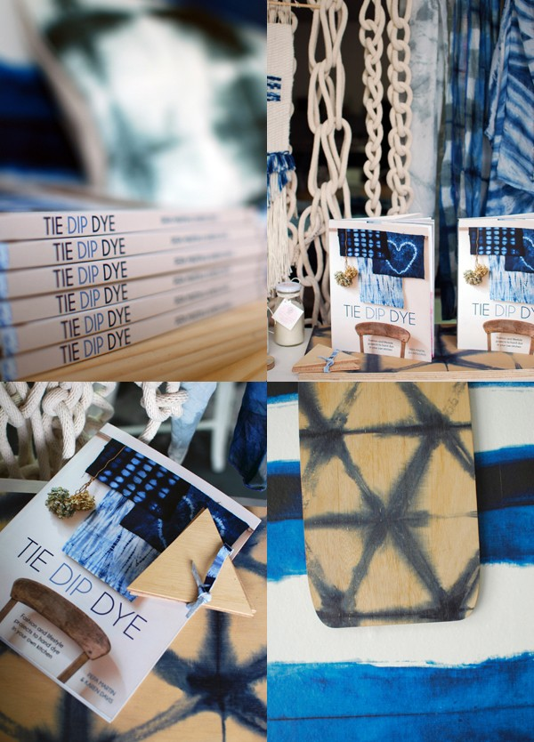 Shibori book Tie Dip Dye via We Are Scout