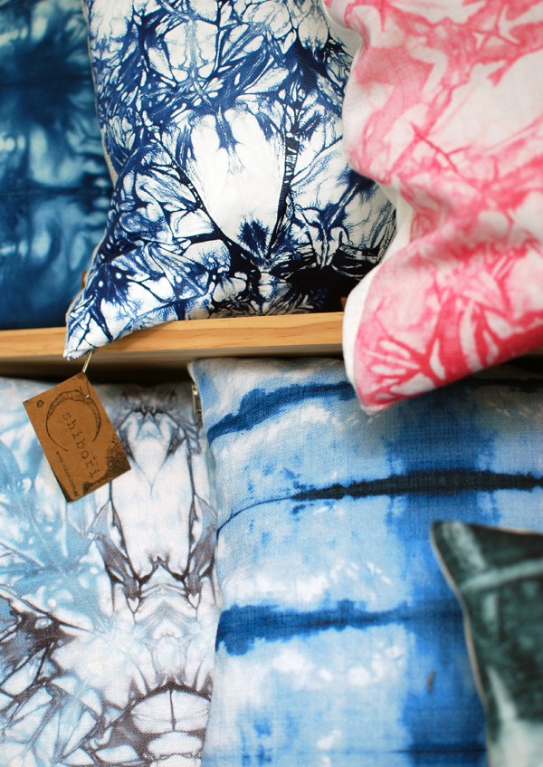 Shibori shop in Sydney via We Are Scout