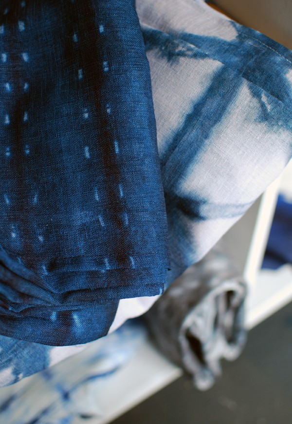 Shibori Textiles via We Are Scout blog