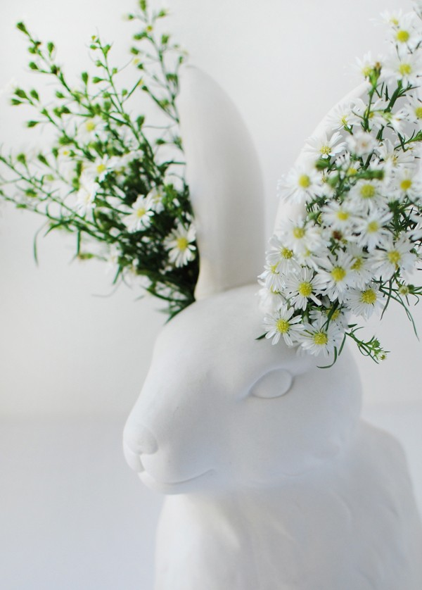 4 Clever and Cute Ways to Decorate Your Easter Table, via We-Are-Scout.com.