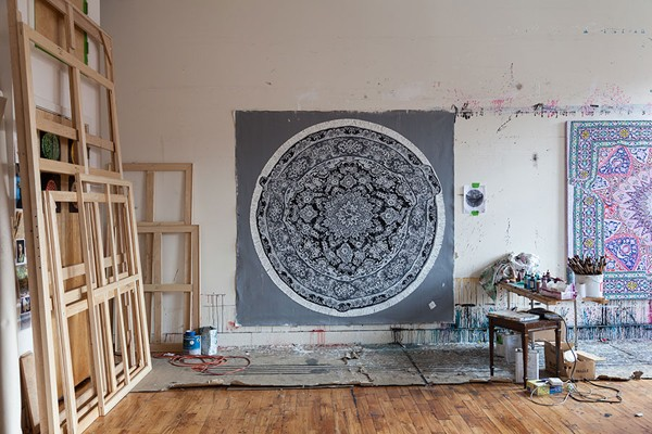 Artist Antonio Santin's Brooklyn Studio. via We Are Scout