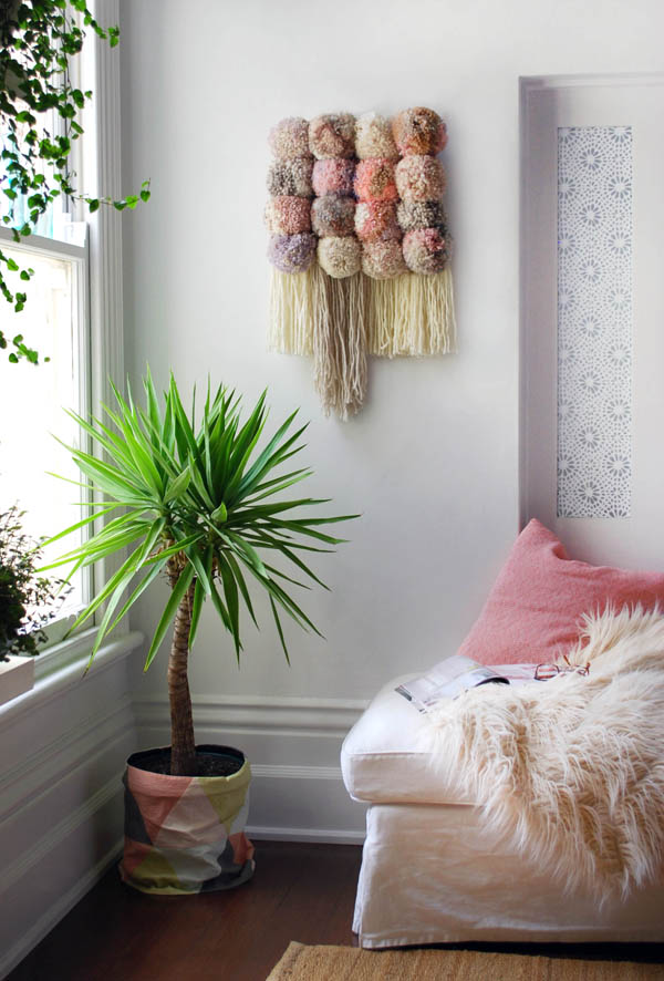 Pom Pom Wall Hanging - We Are Scout