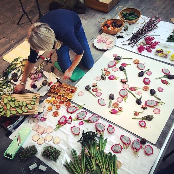 Amber Locke Raw Vegan Blonde - art at Anthropologie