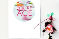 Free printable poster: You're ace
