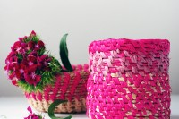 Tutorial: Make a coiled raffia basket