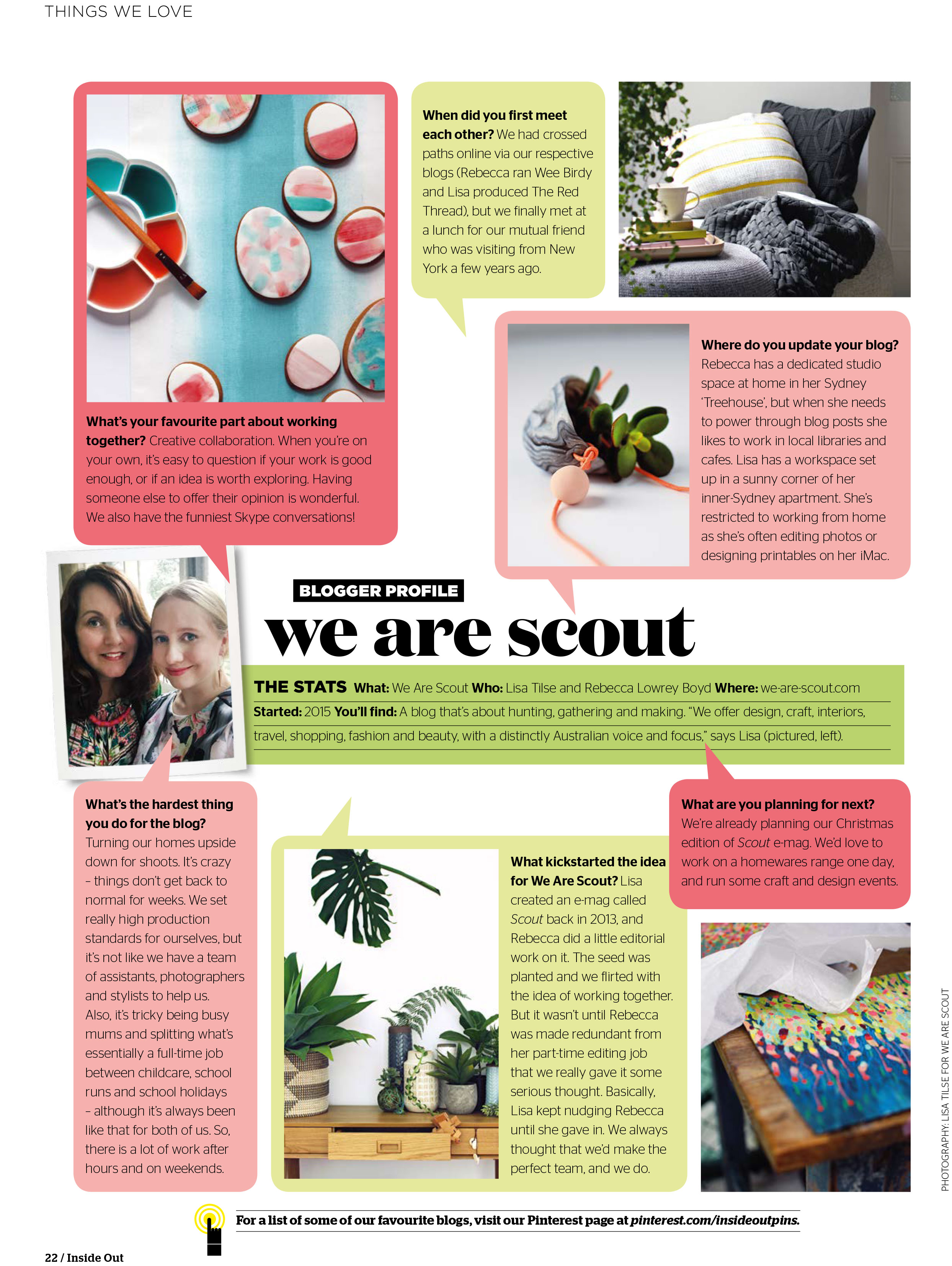 Sneak Peek Inside Out Magazine July 2015 And We Re In