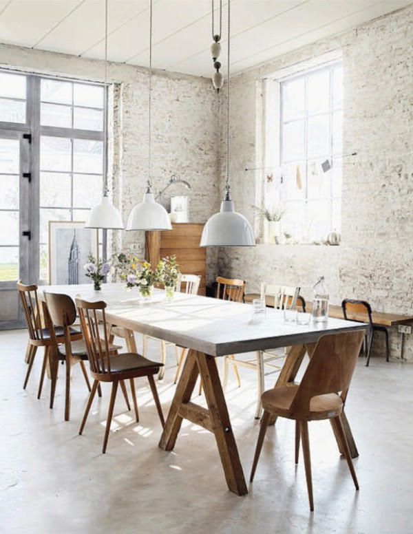 Trend Scout: Unfinished and undone Interiors via we-are-scout.com