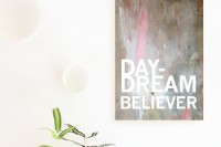Free Printable Poster: Daydream Believer