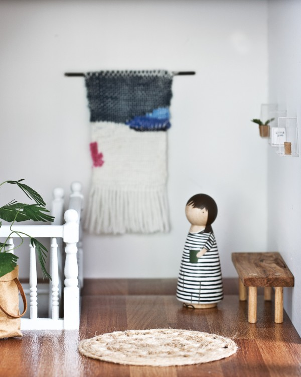 Details from @little.linzi's amazing dollhouse renovation for her daughter, with handmade iconic designs in miniature. Photography by Sam McAdam-Cooper, from the July 2015 issue of INSIDE OUT magazine.