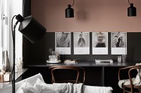 Trend Scout: Half painted walls in black