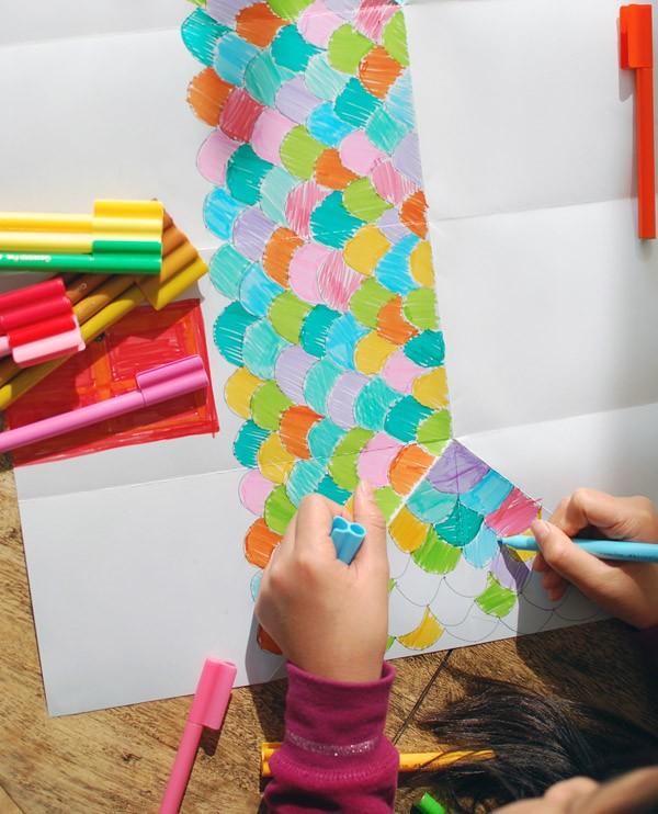 Wie man ein Origami Haus bastelt | Basteln mit Papier | Vorlagen ... | 742x600