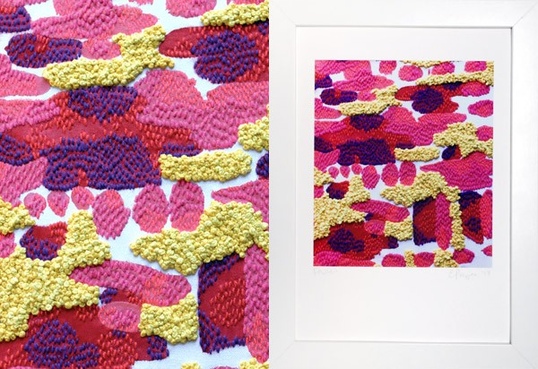 An interview and studio visit with Sydney-based textile and embroidery artist Liz Payne.