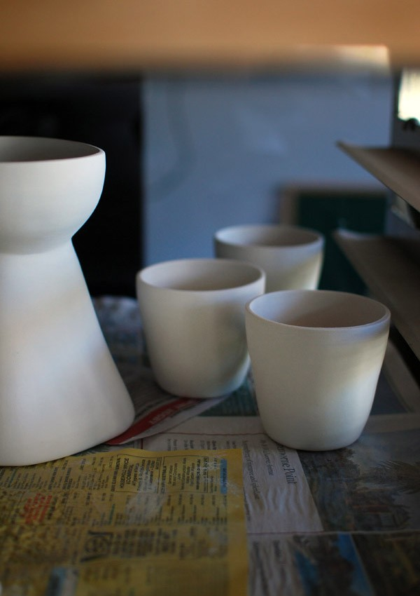 Studio tour and interview with ceramicist Vanessa Holle aka Vanessa Bean. Photo Lisa Tilse for We Are Scout