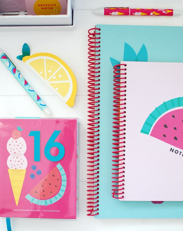 kikki.K Spring Sumer 2016 diaries via We Are Scout