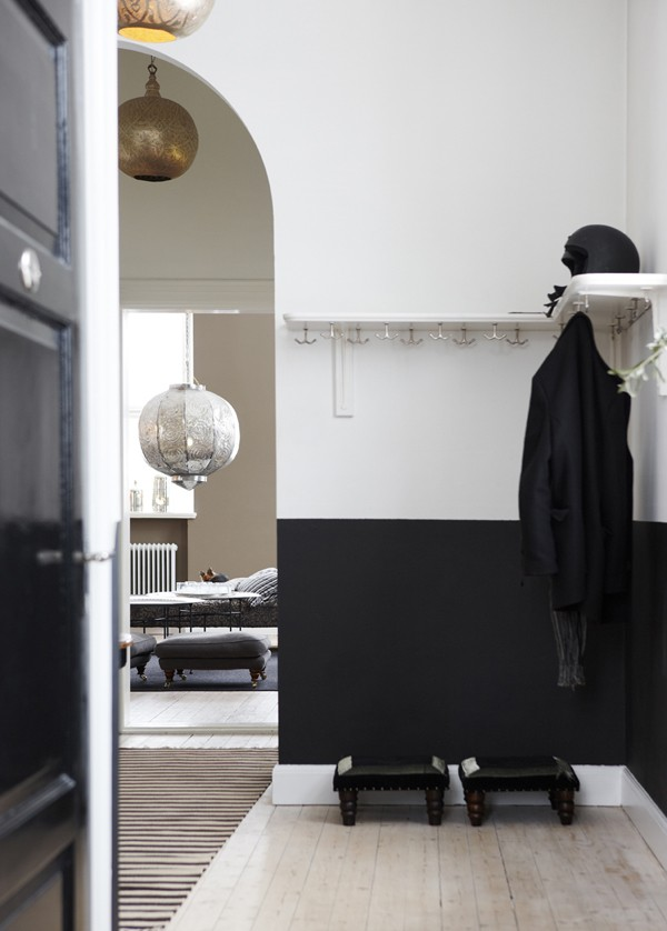 Trend Scout: walls pinted half black - We Are Scout