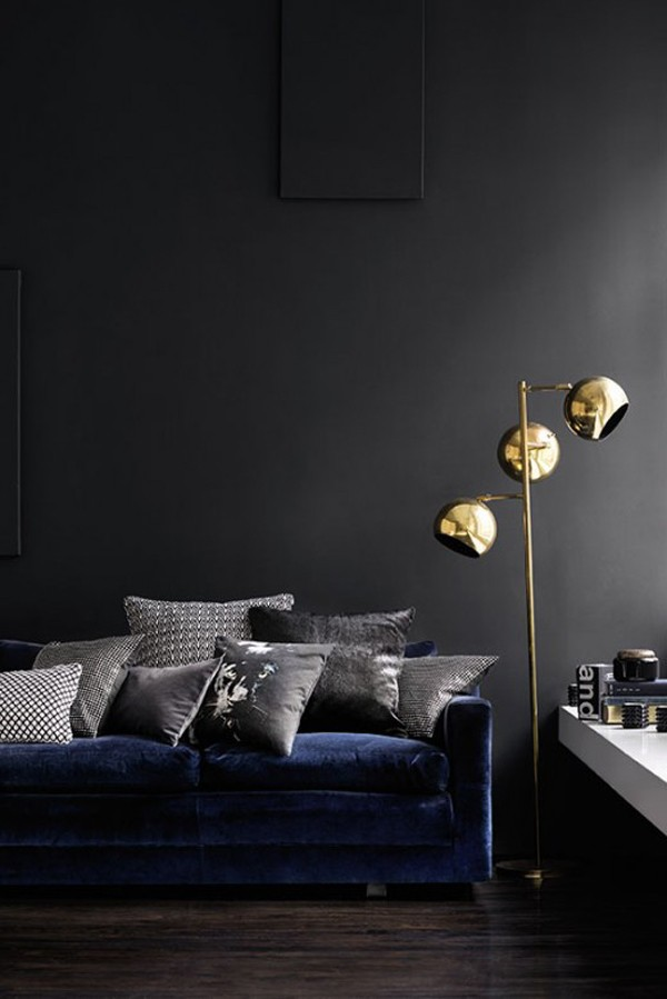 Trend Scout Inky Interiors And Black Walls We Are Scout