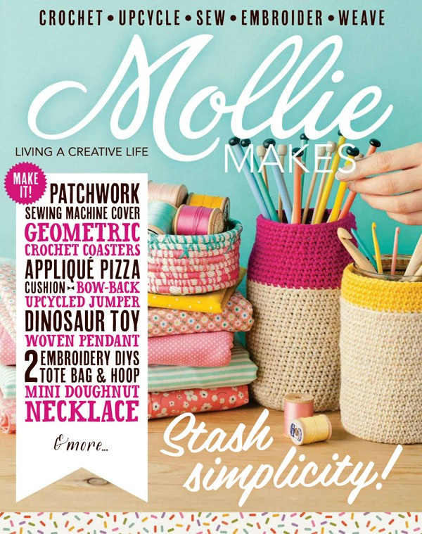 Lisa Tilse/We Are Scout makes the front cover of Mollie Makes