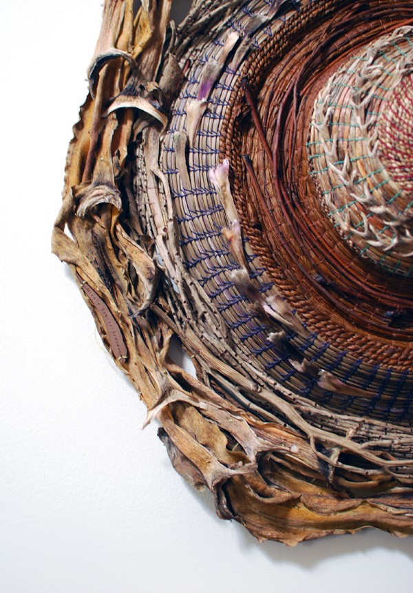 Fiber artist Nicole Robins' Sydney studio - photo Lisa Tilse