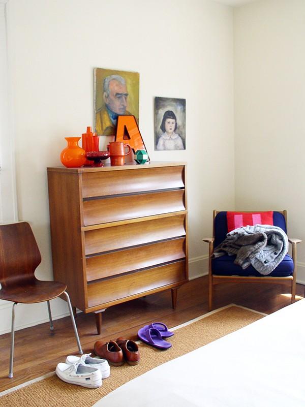 Quilt artist Drew Steinbrech's home