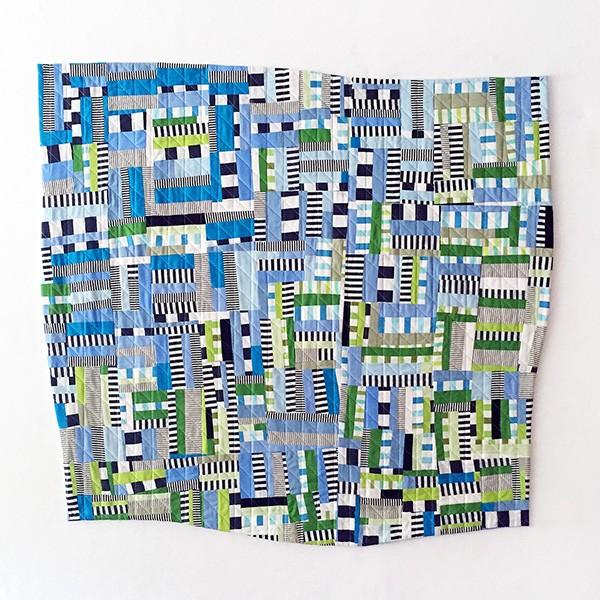 Quilt artist Drew Steinbrech