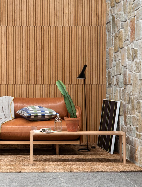 Glosswood timber wall panels