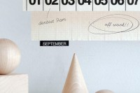 Scouted: Masking Tape Calendar