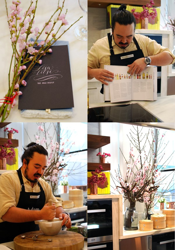 Adam Liaw's Asian Cookery School at Williams Sonoma. Photo Lisa Tilse for We Are Scout.