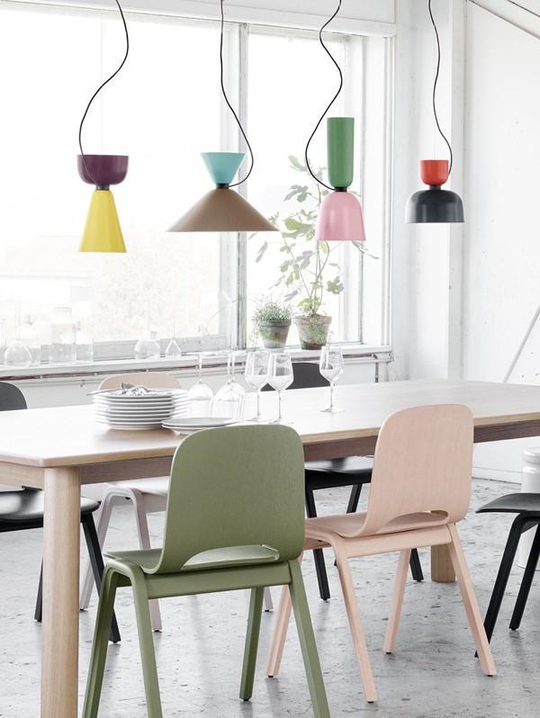 Luca Nichetto's innovative modular Alphabeta pendant lamp for Hem