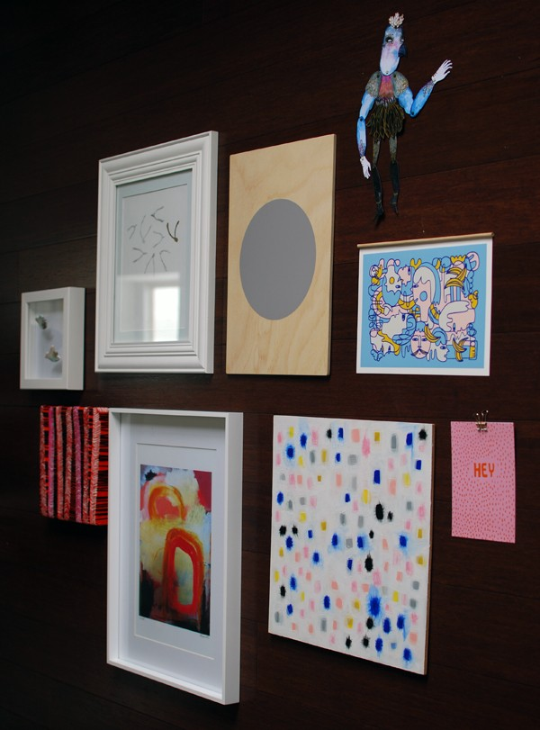 How to design a gallery wall - Etsy affordable art - Photo: Lisa Tilse for We Are Scout